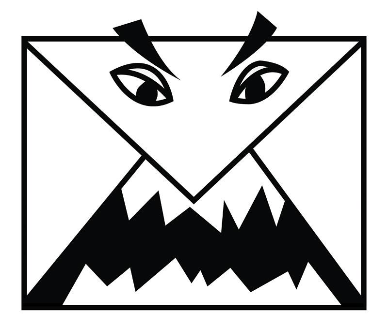 Benjamin Grosser<br />ScareMail (logo) %% 2013 %%  %%  %%